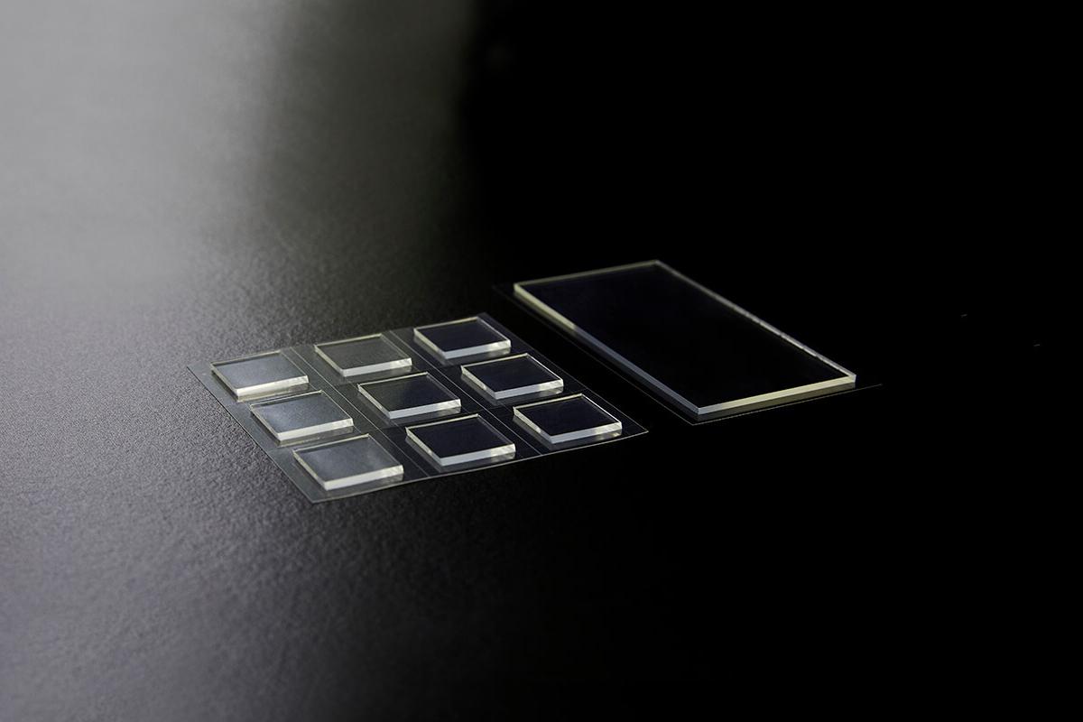 厚物光学ゲルの抜き加工