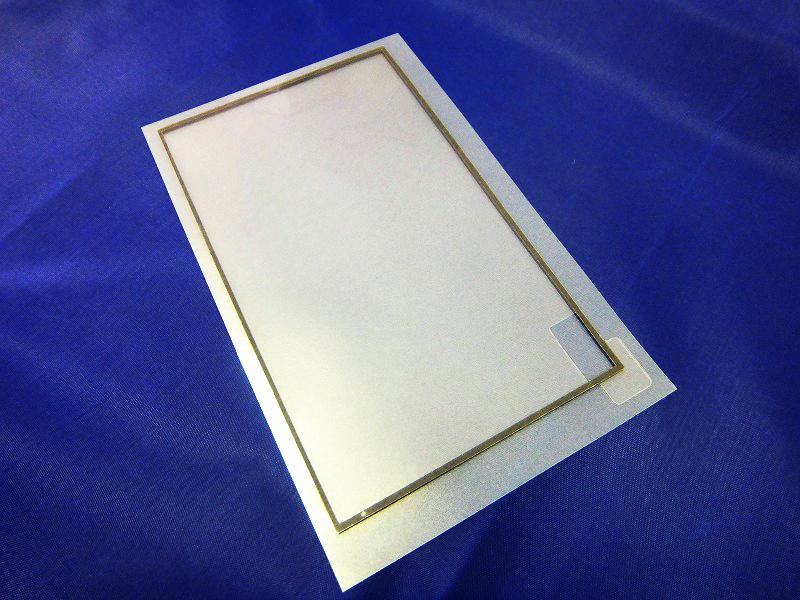 タッチパネル(液晶)周りのクッション材
