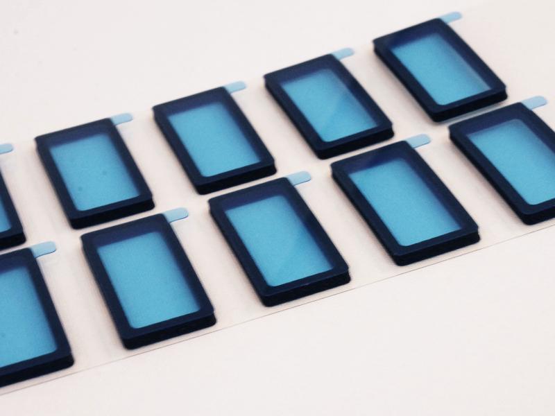 小型の電子機器用クッション材