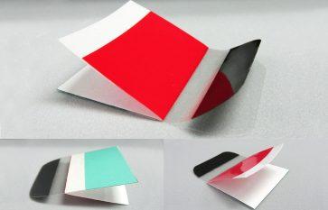 医療用テープの積層・折り曲げ抜き加工